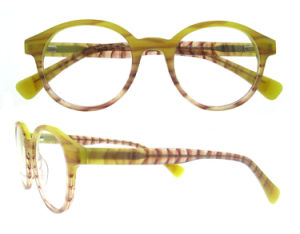 New Style Wood Like Glasses Eyewear Eyeglass Optical Frame pictures & photos