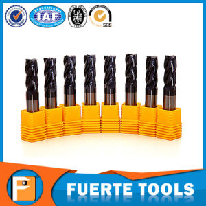 HRC58 High Quality Tungsten Steel Cutter 4flutes pictures & photos