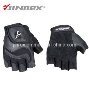 Jinrex Sports Weight Lifting Fitness Workout Leather Glove pictures & photos