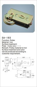Iron Window Roller/ Hardware Accessories for Window (SA-193) pictures & photos