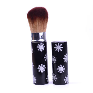 Hot Selling with Synthetic Hair Retractable Powder/Blush/Face/Eyebrow Cosmetics Makeup Brush pictures & photos