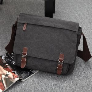2017 New Styles Over-Grown-Type Leisure Capacity Canvas Messenger Bag (8111) pictures & photos