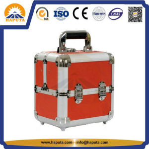 PRO Makeup Train Case with Silver Aluminum Frame (HB-3206) pictures & photos