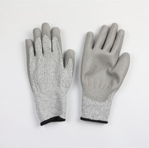 High Quality Level 3 Anti Cutting Gloves pictures & photos