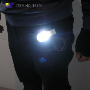 Silicone LED Magnet Clip Safety Light (T6155) pictures & photos
