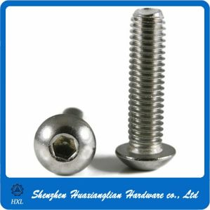 M3 M4 M5 M6 Stainless Steel Socket Head Button Head Machine Screw pictures & photos