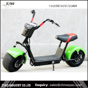 2017 Zyao 60V City Coco/1000W Harley Scooter/1500W 200kgs Load Harley Electric Scooter pictures & photos