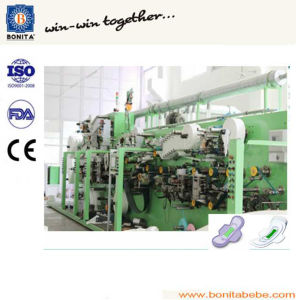 Full Servo Automatic High Speed Woman Sanitary Napkin Equipment pictures & photos