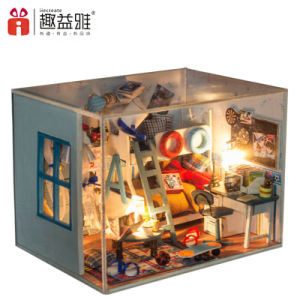 Mini Bunk Bed Doll House by Hand pictures & photos