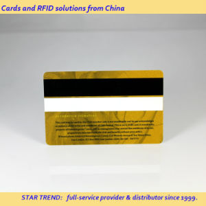 Full Colors Printing Plastic Magnetic Stripe Card for Casino Member pictures & photos