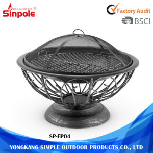 Large Economic Hollow Pattern Charcoal Outdoor Fire Pit pictures & photos