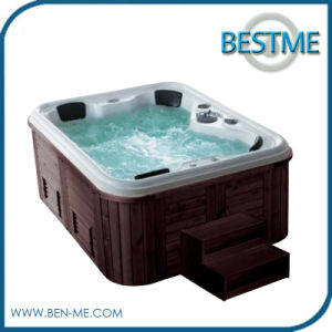 Factory Price Powerful Outdoor SPA Jacuzzi Bathtub (BT-1803) pictures & photos