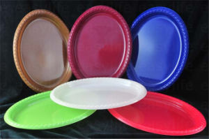 Shape 1 Easylife Various Disposable PS Plastic Round Plate pictures & photos