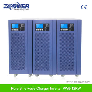 8-12kw Pure Sine Wave Inverter with 40A 48V Solar Charger Controller pictures & photos