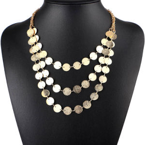Women Jewelry Stainless Steel Circle Chain Fashion Necklace for Clothes pictures & photos
