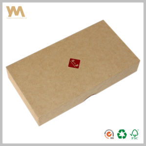 Customized Kraft Paper Gift Box with Linings pictures & photos