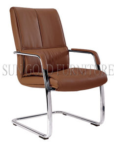 High Back Brown Color Office Leather Ergonomic Chair Factory (SZ-OC152C) pictures & photos