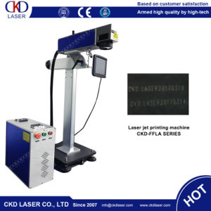Production Line Domino Fly Laser Engraver Coding Machine pictures & photos