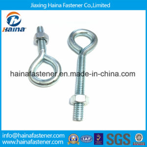 Heavy Duty Zinc Plated DIN580 Eye Bolt with DIN582 Eye Nut pictures & photos