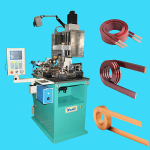 CNC Multi Axis Bobbinless Coil Winder for Heavy-Duty Air Core Coils by Flat Wires pictures & photos