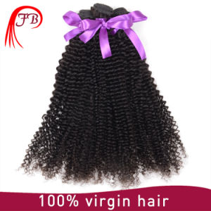 Unprocessed Human Hair Kinky Curly Virgin Remy Brazilian Hair Extension pictures & photos