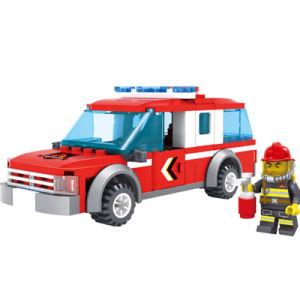 14898209-140PCS City Fire Police Boys Models & Building Toy City Blocks Car Construction Fire Control Bricks Playmobile pictures & photos