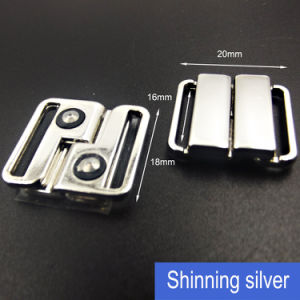 16mm Swimwear Clasp in Nickle Free Silver pictures & photos