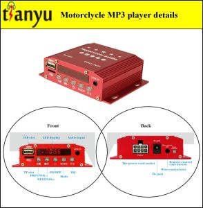 Motorcycle MP3 Ringtones with Alarm System 611 pictures & photos