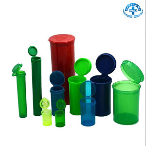 Plastic Vial of Pop Top Cap Medical Pill Vials PP Bottles FDA Child-Resistant Style pictures & photos