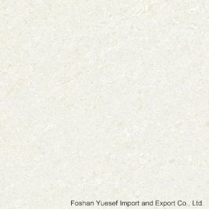 Crystal White Polished Porcelain Tiles (double loading) with Nano pictures & photos