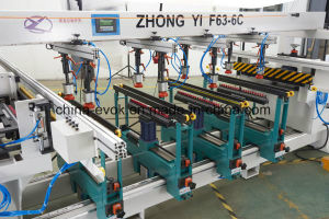 Most Professional Wooden Furniture Automatic Multi-Drill Machine (F63-6C) pictures & photos