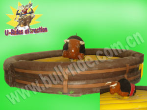 Inflatable Big Body Mechanical Bull Toys in Best Selling 2017 pictures & photos