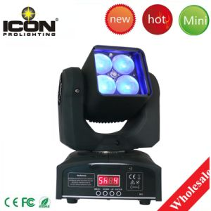 4X10W RGBW 4in1 Zoom Moving Head for Stage Lighting pictures & photos