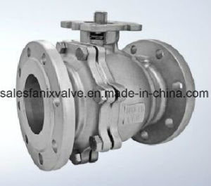 GB Flanged Ball Valve (Floating Ball)