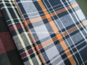 Yarn Dyed Double Yarn Flannel Check Fabric pictures & photos