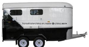 Comfortable Travel Horse Trailer/Horse Floats Slant Load pictures & photos