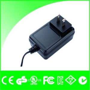 12V 2A AC/DC Portable Wall Power Charger Adapter pictures & photos