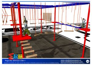 Challenging Climbing Structure for Indoor Playground pictures & photos
