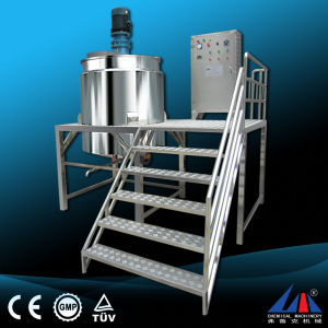 Flk Ce 200L, 500L Stainless Steel Body Lotion Mixing Tank pictures & photos