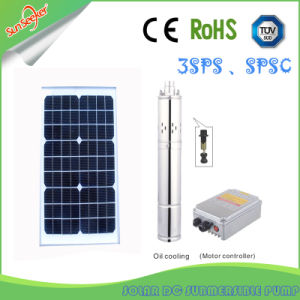 5-60 Flow Rate&210m Head Solar Screw Pump Solar DC/AC Submersible Centrifugal Pump pictures & photos