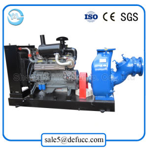 Self Priming Large Volume Diesel Water Pump for Mud pictures & photos