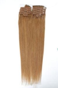 Brazilian Virgin Hair Clip-in Human Hair Extension 100% Human Hair pictures & photos