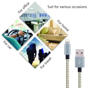 Shenzhen 3.3FT for iPhone 5 USB Cable pictures & photos