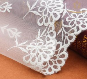Home Textile Garment Polyester Trimming Lace for Lingerie Lace pictures & photos