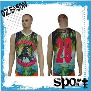Customized Sublimation Men′s Bodybuilding Dri Fit Gym Tank Top (SL007) pictures & photos