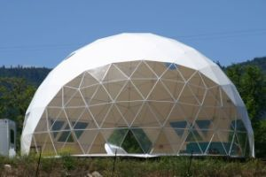 UV Protection PVC Fabric Dia 12m Dome Tent Used for Garden Shelters pictures & photos