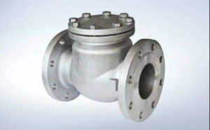 JIS Standard Flanged Swing Check Valve pictures & photos