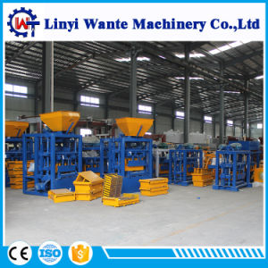 Qt4-24 Semi-Auto Block/Brick Making Machine with Low Investment pictures & photos