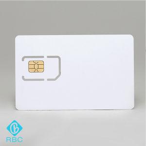 Plastic Blank SIM Card for Telecommunication