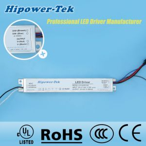 40W Constant Current Aluminum Case Dimmable Power Supply LED Driver pictures & photos